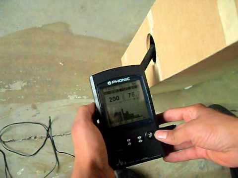 Helmholtz Resonator - Frequency: 226,9 Hz