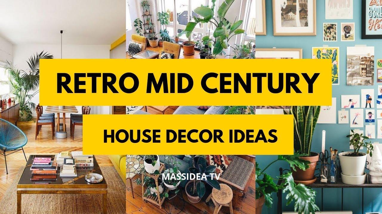 50+ Unique Retro Mid-Century House Decor Ideas & 50+ Unique Retro Mid-Century House Decor Ideas - YouTube