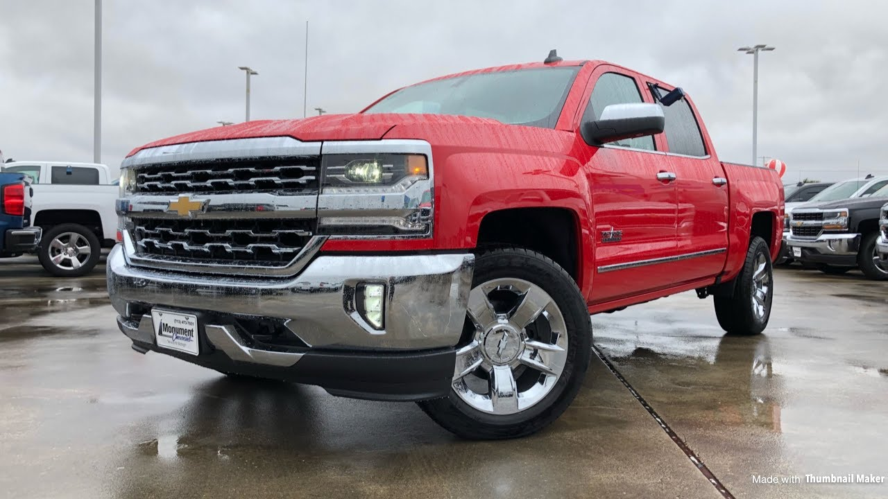 2018 Chevrolet Silverado Ltz 5 3l V8 Review Youtube