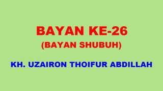 026 Bayan KH Uzairon TA Download Video Youtube|mp3