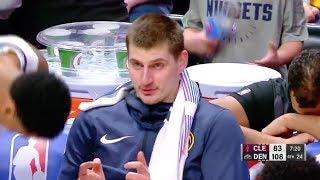 Nikola Jokić Tries To Get Phone Number From Denver Nuggets Bench