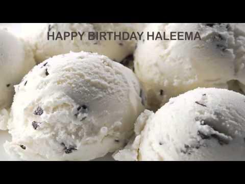 Haleema   Ice Cream & Helados y Nieves - Happy Birthday