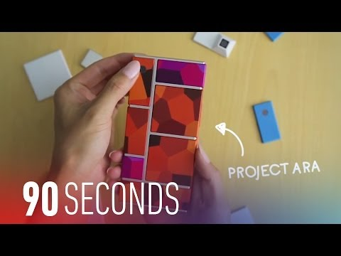 Google details how to make Project Ara smartphone modules: 90 Seconds on The Verge