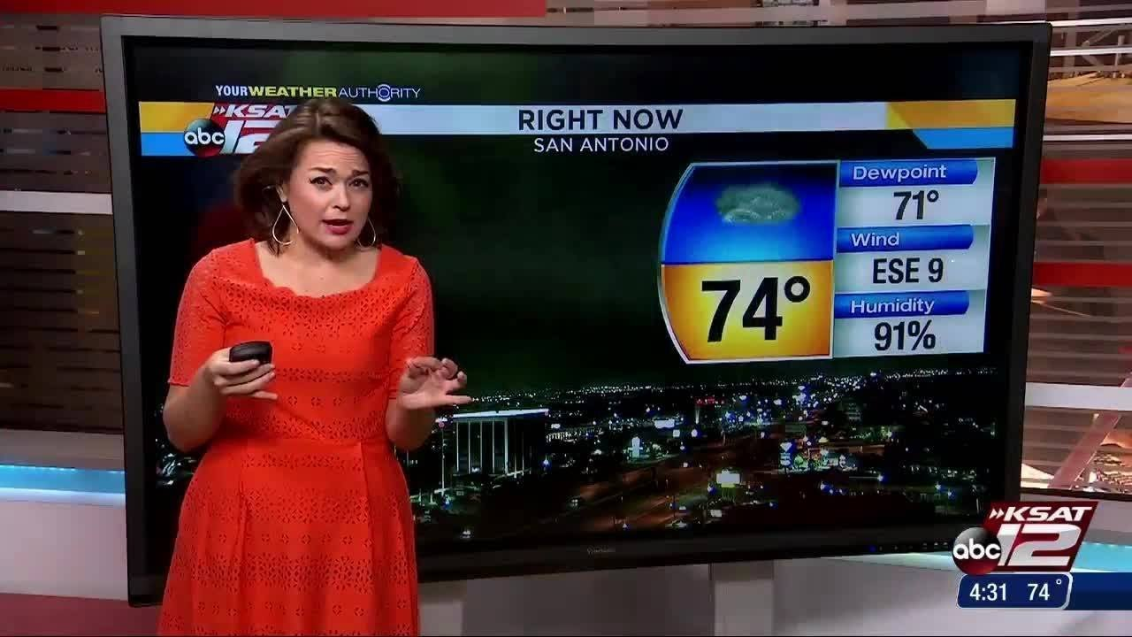 WATCH: Meteorologist Kaiti Blake gives her early weather forecast