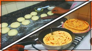 Jinsi ya Kupika Chapati Laini za Kusukuma | How to make Soft Chapati