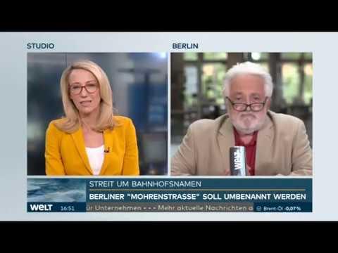 Interview Henryk M. Broder zur Umbenennung der Mohrenstraße, Berlin