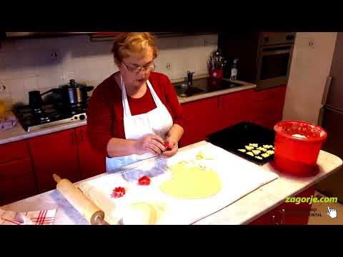 Zdenkica Ljubić priprema bozićnih kolača