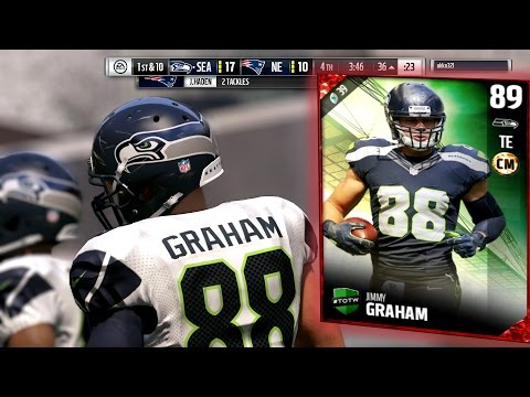JIMMY GRAHAM IS A GLITCH!!! | Madden 17 Ultimate Team