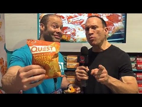 QUEST PROTEIN TORTILLA CHIPS REVIEW BY DAVE PALUMBO!