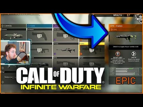 """VPR """"HADES"""" INFINITE WARFARE NEW SILENT and DEADLY WEAPON DROP"""