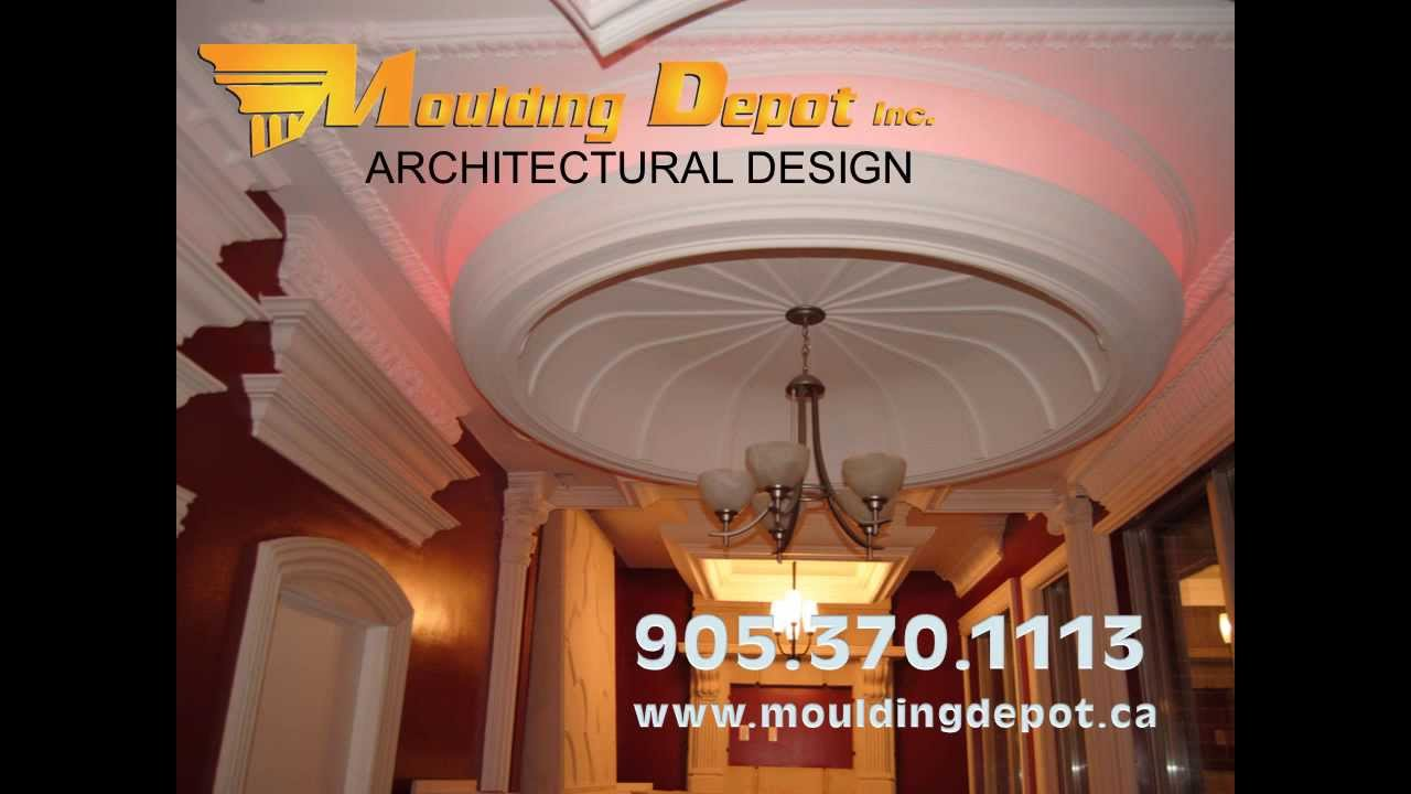 moulding depot crown moulding and fireplace mantels youtube