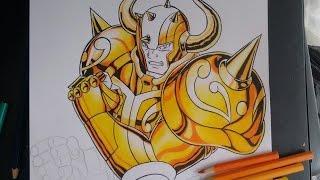 #2° Tutorial Como Colorir Armaduras de Ouro (Saint Seiya)