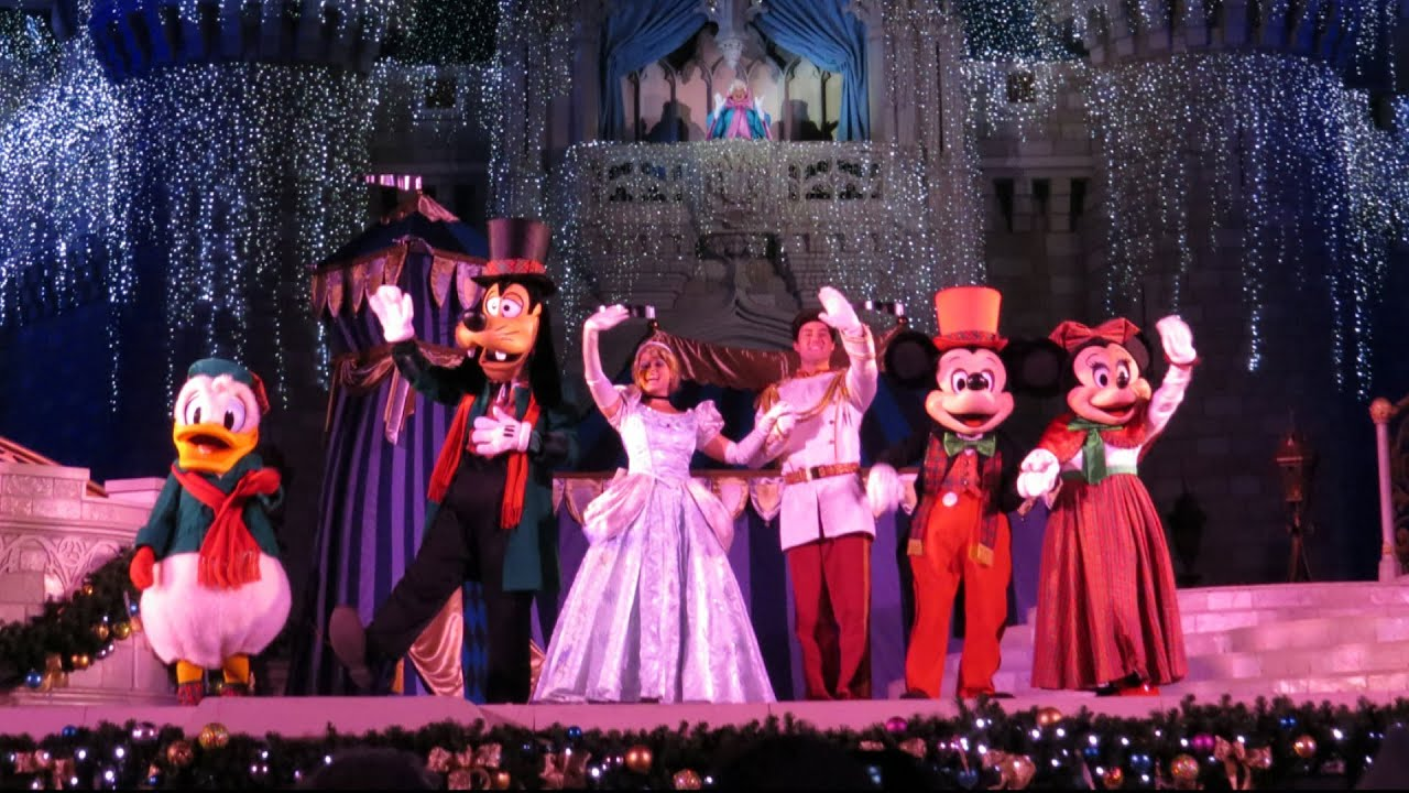 Cinderella Castle Lighting At Magic Kingdom First 2013