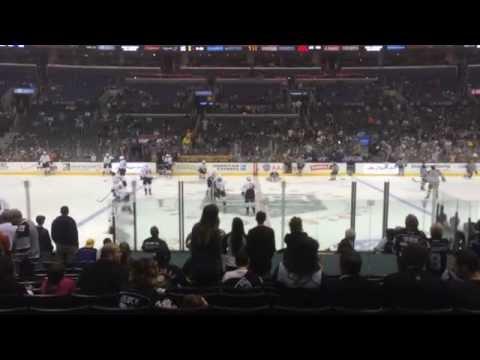 Anaheim Ducks at L.A. Kings 4/12/14.