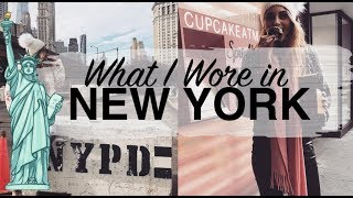 OUTFIT DIARIES | What I Wore in NEW YORK | Sinead Crowe
