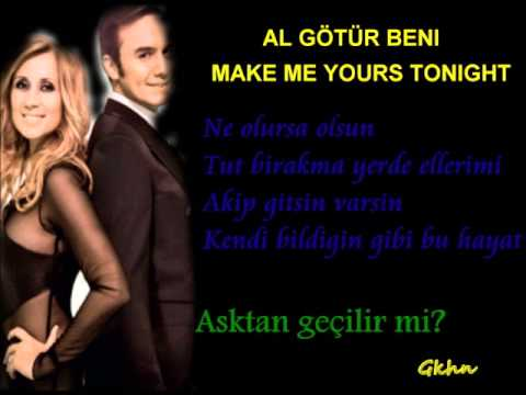 Mustafa Ceceli Lara Fabian Al Götür beni make me yours tonight 2014