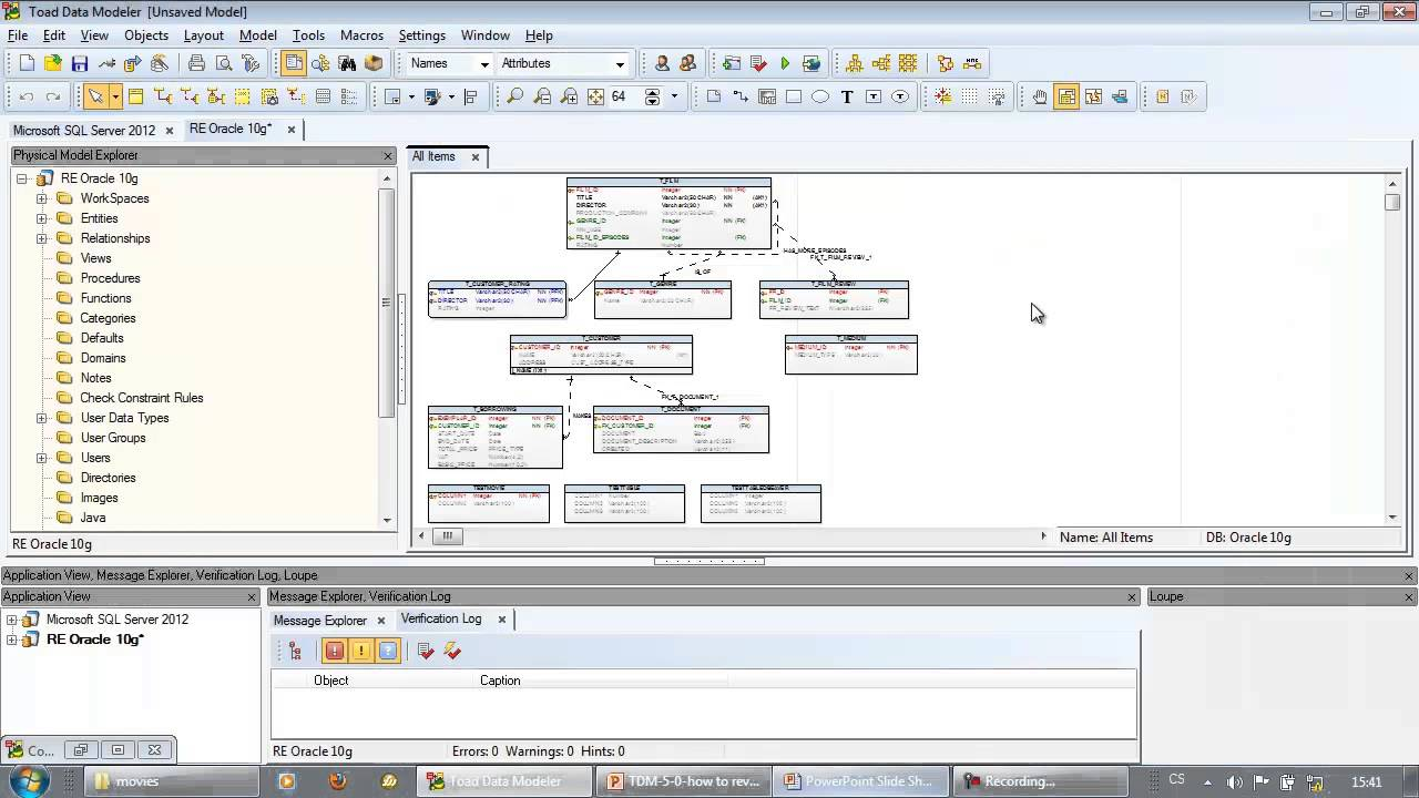 How to reverse engineer database structures with toad data modeler how to reverse engineer database structures with toad data modeler ccuart Choice Image