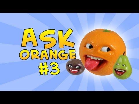 Annoying Orange - Ask Orange #3: A-TOY-ING ORANGE!
