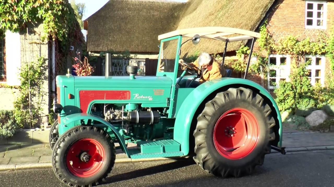 Hanomag robust traktor youtube