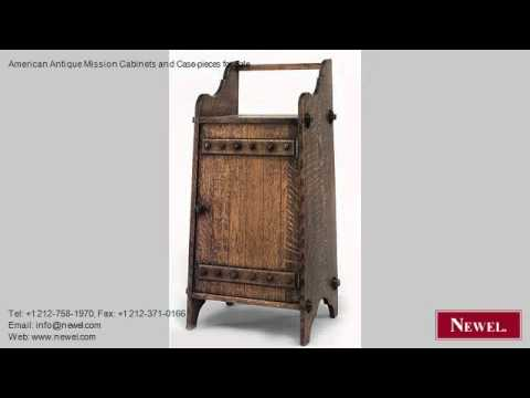 American Antique Mission Cabinets and Case-pieces for Sale