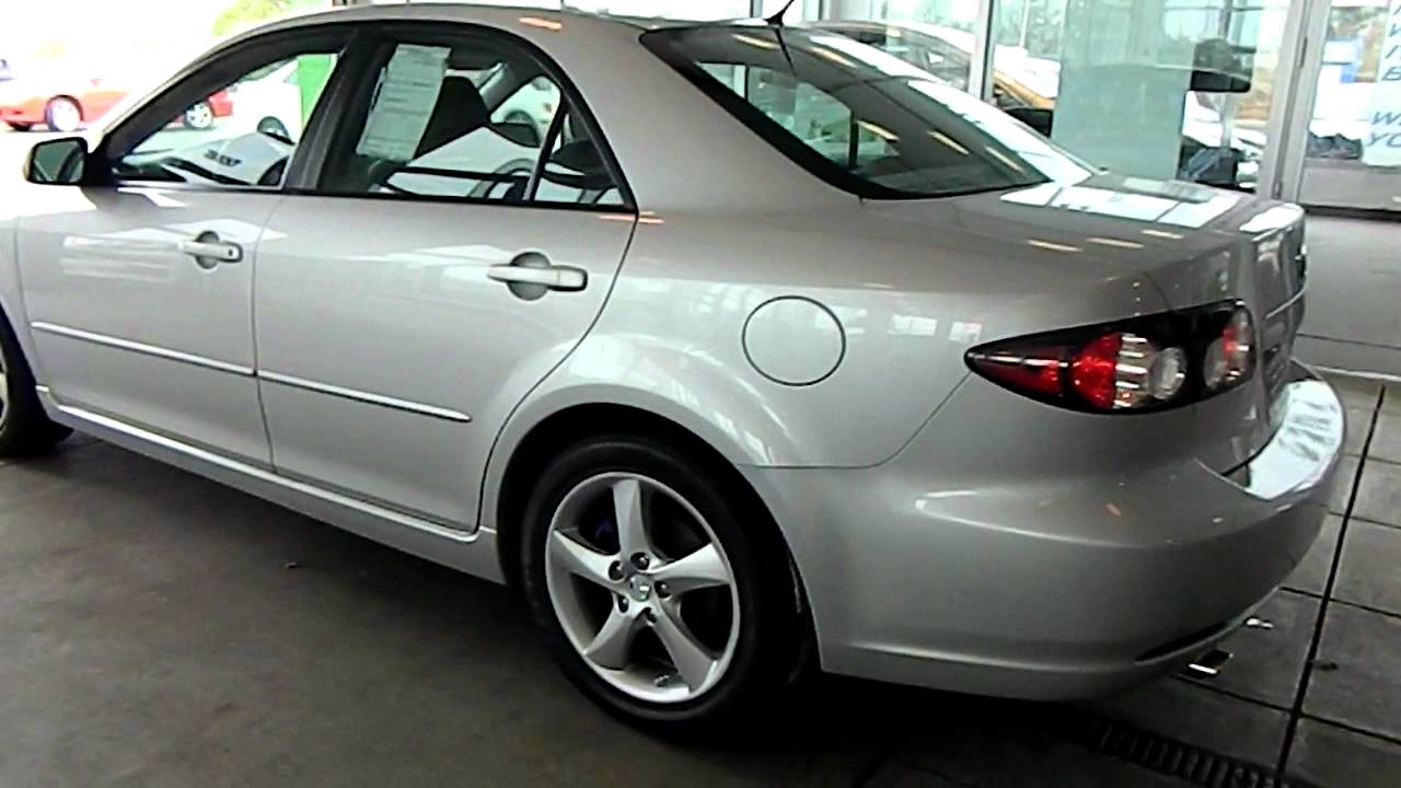 silver metallic 2008 mazda6 i sport eastside mazda in cleveland ohio youtube. Black Bedroom Furniture Sets. Home Design Ideas