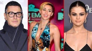 'Testa di ca..o', Stefano Gabbana insultato da Miley Cirus: c'entra Selena Gomez