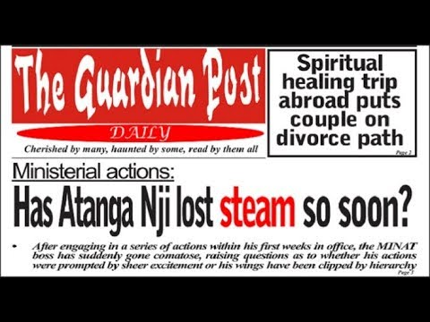 Breaking News! Cameroon Daily News paper Today June 20 2018! Watch and Read for yourself an see!