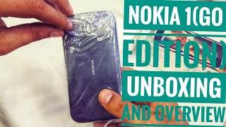 Nokia 1 2018 first Android GO phone Unboxing and Overview in Hindi