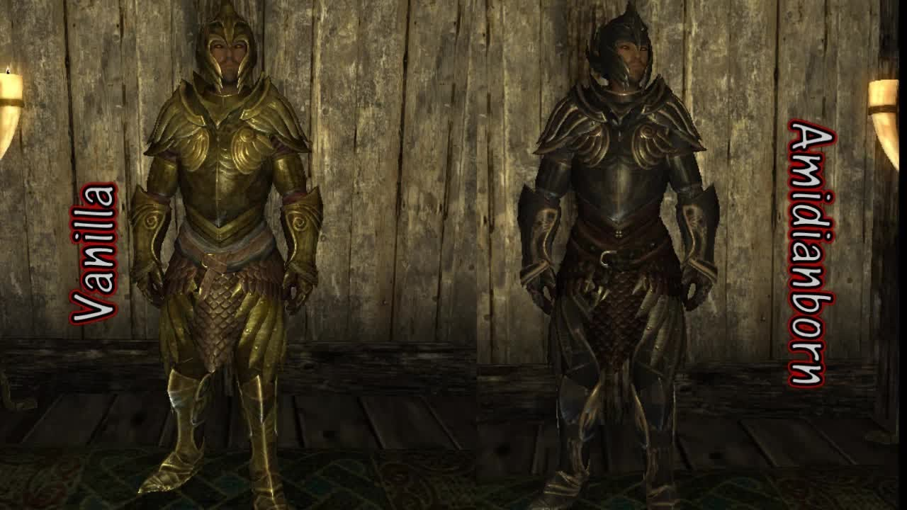 Skyrim Armor Retexture Mod: Amidianborn Book of Silence By Cabal120 - Caedo  Genesis