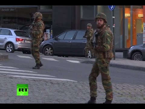 Soldiers 'neutralize' suspect after small blast at Brussels Central Station