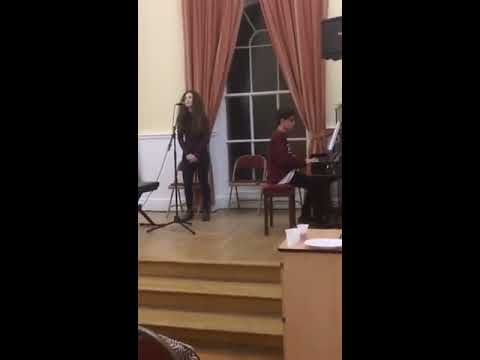 Katie Ben Perform Hallelujah 2016