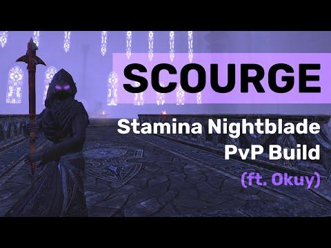 SCOURGE - Stamina Nightblade PvP Build ft. Okuy | The Elder Scrolls Online - Blackwood |