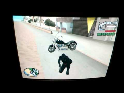 GTA SAN HOW TO BECOME GHOST RIDER WITHOUT...