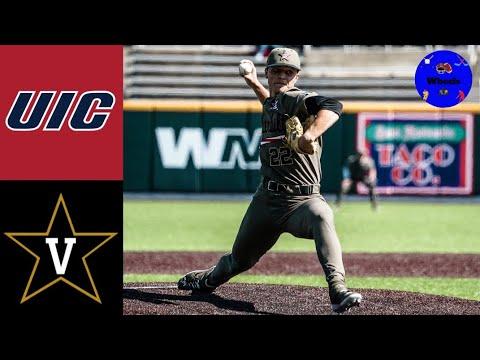 UIC vs #2 Vanderbilt Highlights (Jack Leiter was DOMINANT!) | 2021 College Baseball Highlights