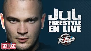 Jul - Freestyle en live #PlanèteRap
