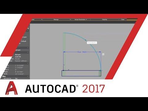 Working with Dynamic Blocks: AutoCAD 2017 WEBINAR | AutoCAD
