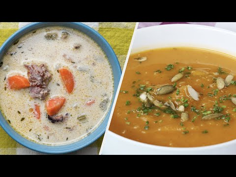 5 Healthy And Delicious Soup Recipes