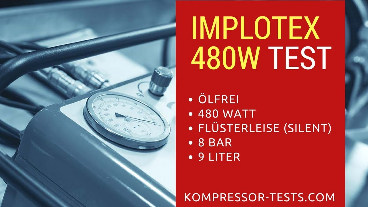 Kompressor ölfrei Test : implotex 480w fl sterkompressor lfrei im kompressor test youtube ~ Avissmed.com Haus und Dekorationen