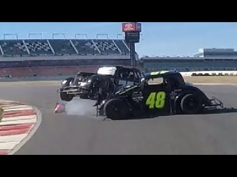 Legend Cars Pro Road Course Feature Jordan O'Brien At Charlotte Motor Speedway Febuary 3rd 2018