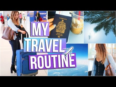 MY TRAVEL ROUTINE: Makeup, Outfit + Carry-On Essentials!  | Tara Michelle