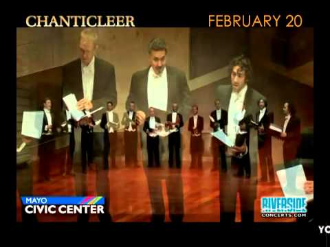 CHANTICLEER...Coming To The Mayo Civic Center In Rochester, MN -- February 20, 2015