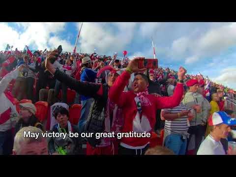 """""""Contigo Peru"""" Reaction Yekatinburg, Russia with english subtitles  360 VR"""