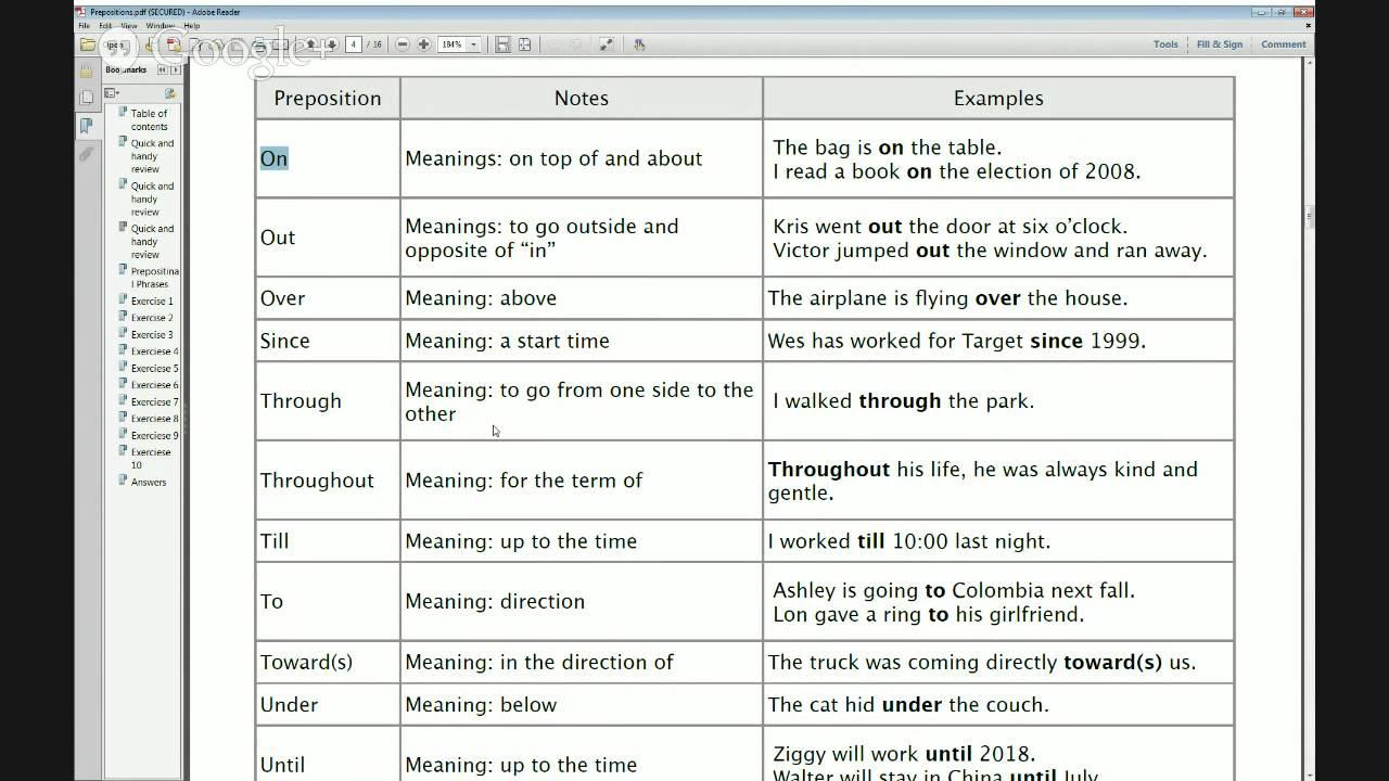 worksheet Advanced Preposition Worksheets grammar practice worksheets prepositions contin level intermediate