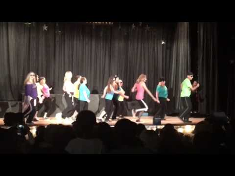 2017 Sierra Madre Elementary School talent show teachers / staff dancing to 24k magic by Bruno mars