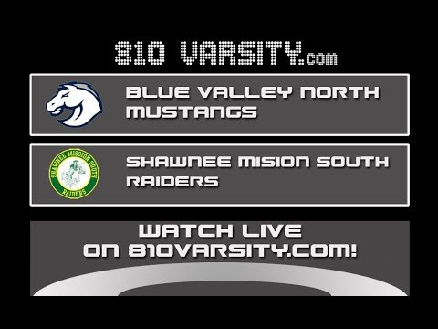 Blue Valley North vs Shawnee Mission South football