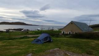 Port A Bhaigh campsite nr Ullapool, Scotland