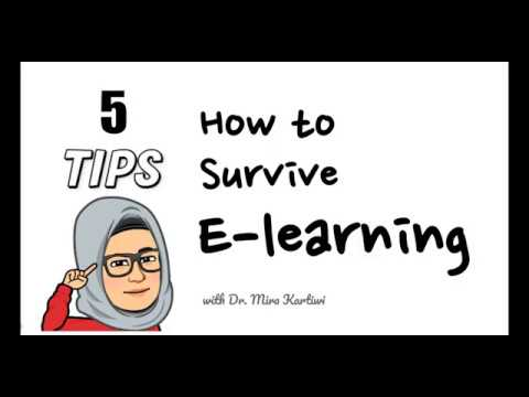 Tips For Online Learning - INFO 4101 Data Mining