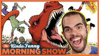 How to Make Your Own Comic Book (w/ DJ Wooldridge) - The Kinda Funny Morning Show 07.10.18