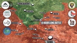 21 апреля 2017. Военная обстановка в Сирии. Операция США и боевиков против  ИГИЛ. Русский перевод.