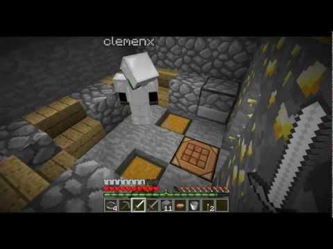 Un serveur HungerGames sur Minecraft ! En compagnie de Clemenx - Ma première Victoire!